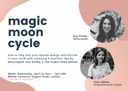 Ellen Million Coaching magic moon cycle webinar