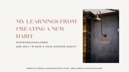 Ellen Million Coaching learnings from shaping a new habit